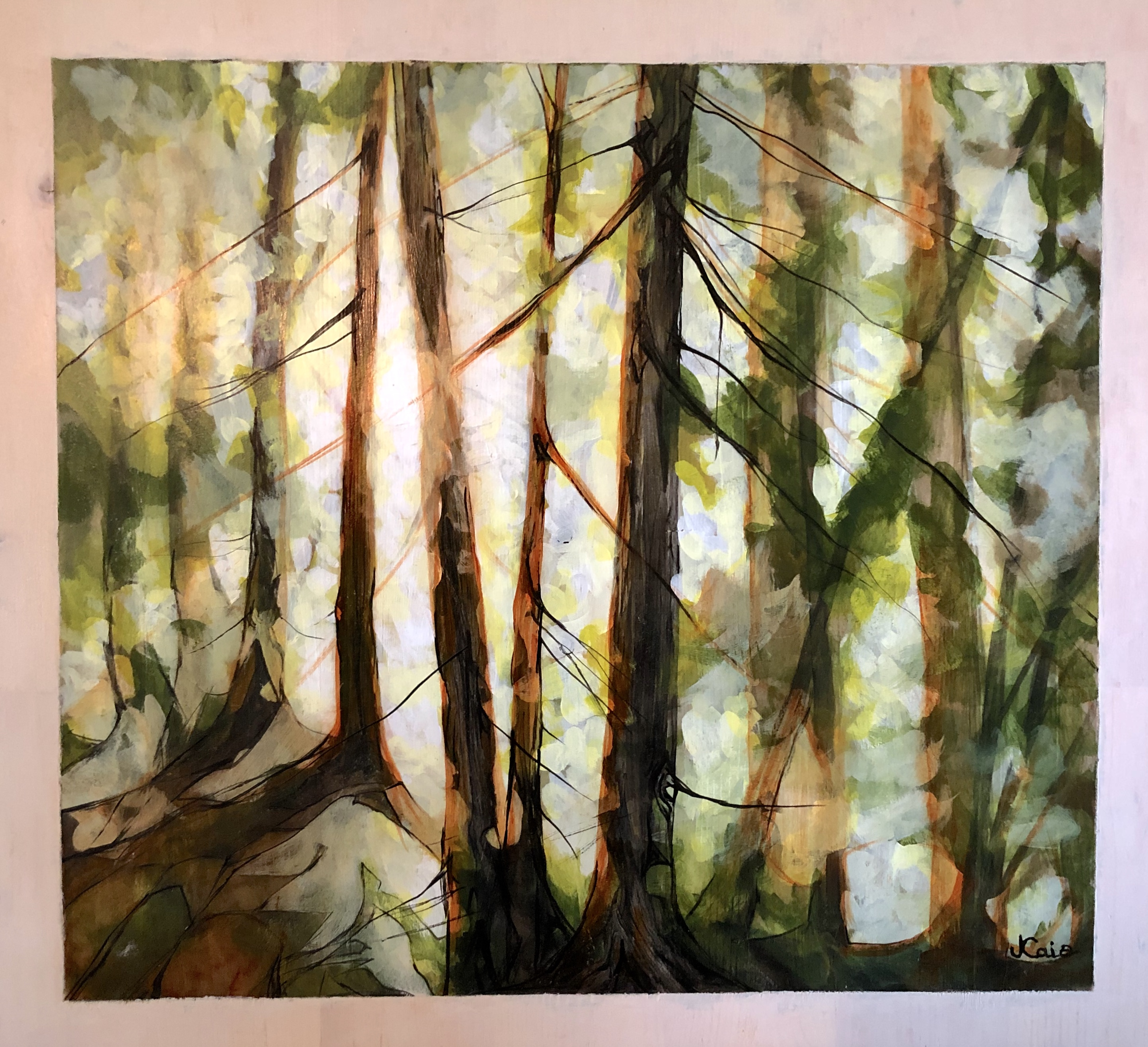 Full size lightbox of Artist Jennifer Caie  image 2