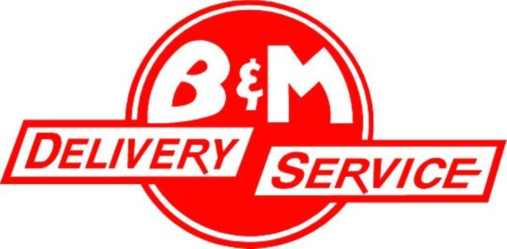 B&M Delivery Service logo