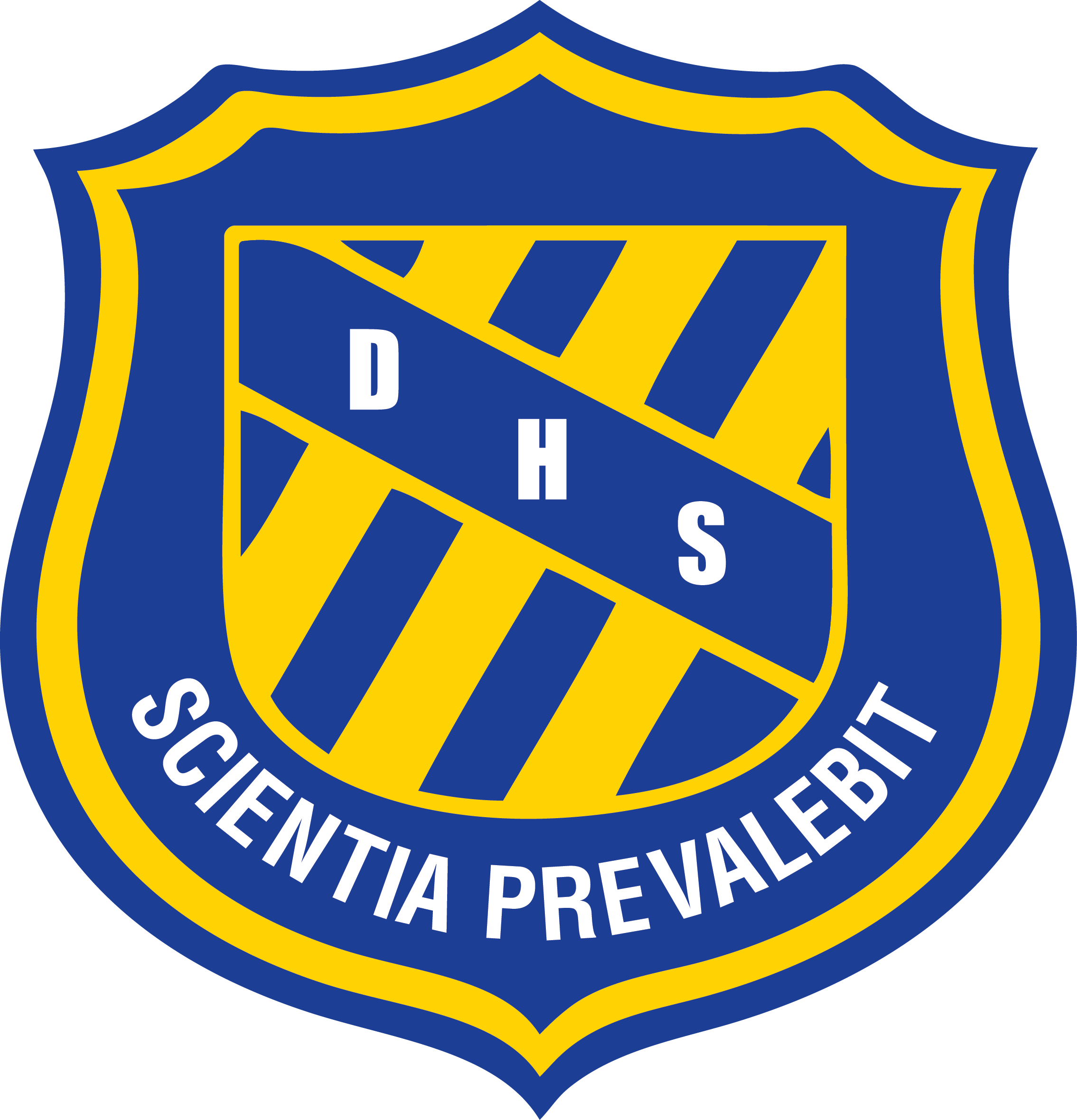 Dryden High School logo